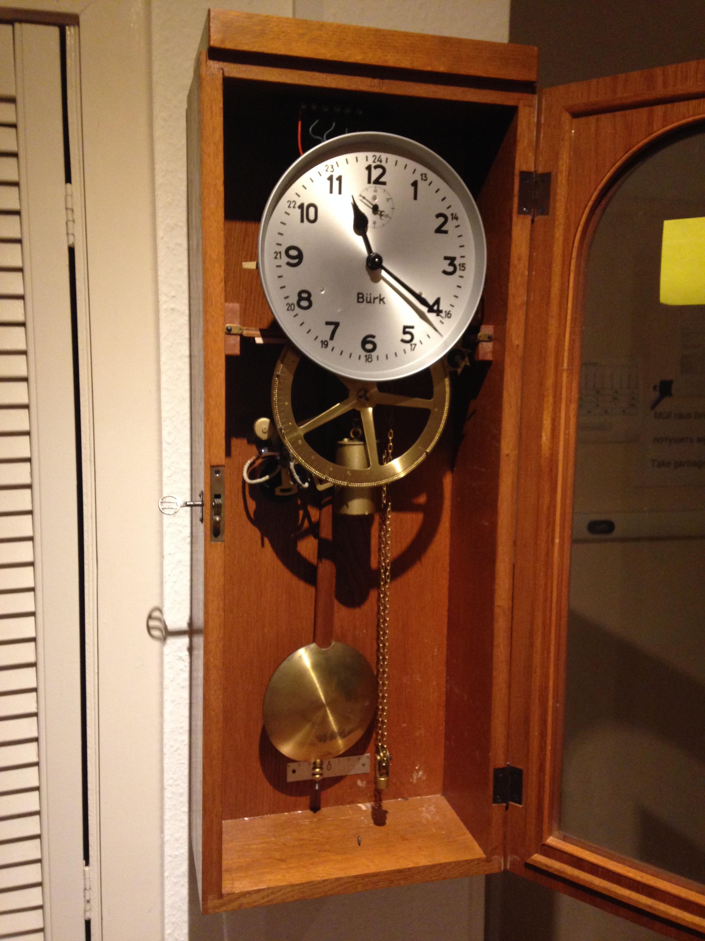 B U00fcrk Master Clock  Mutteruhr    Hauptuhr  Part Ii